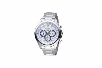 Seiko Chronograph Stainless Steel Blue SSB239P1