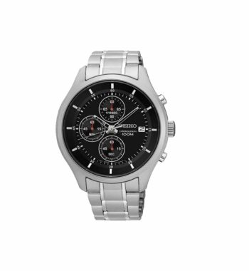 Seiko Neo Sports Chronograph Watch Light Black SKS539P1
