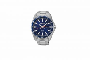 Seiko Solar Power Stainless Steel Watch SNE391P1