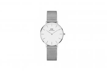 Daniel Wellington Classic Petite Silver Watch DW00100164