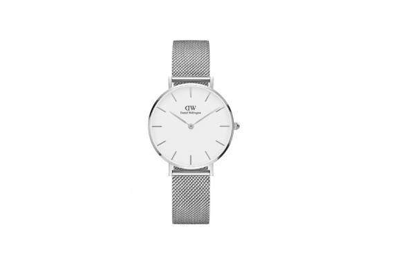 Daniel Wellington Classic Petite Silver Watch DW00100164