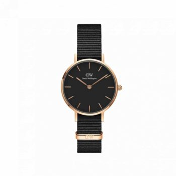 Daniel Wellington Petite 28 Cornwall Black Women's Watch – DW00100247