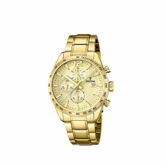 Festina Gold Stainless Steel Chronograph F202662 1