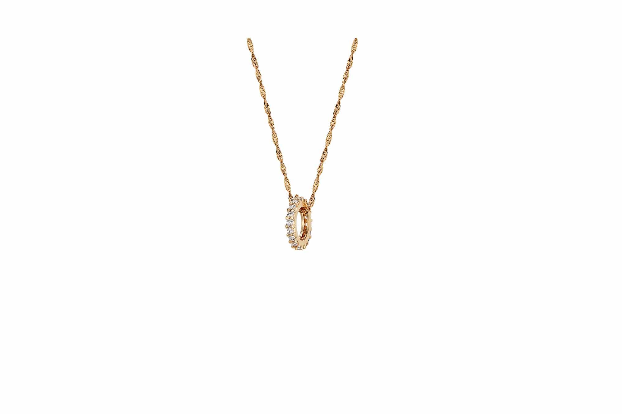 Μενταγιον Eternity Χρυσό Με Ζιργκόν – Jewelor 7979ba7c7e0