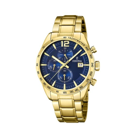 Festina Gold Stainless Steel Chronograph Men's Watch F20266.2