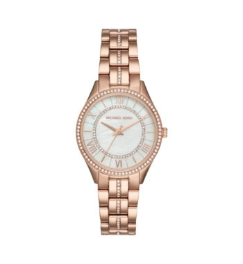 Michael Kors Lauryn Rose Gold Women's Watch ΜΚ3716