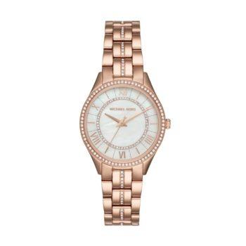 Michael Kors Lauryn Rose-gold Women's Watch – ΜΚ3716