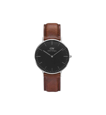 Daniel Wellington St Mawes Brown Leather Unisex Watch DW00100142