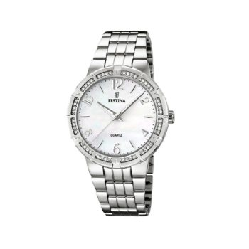 Festina Crystals Stainless Steel Women's Watch F16703.1