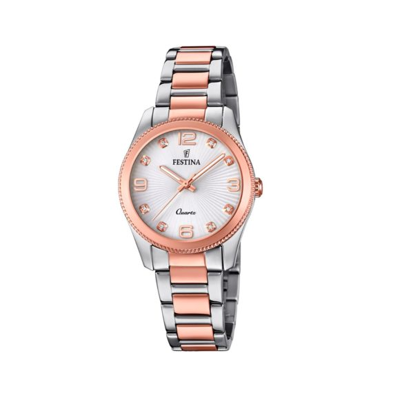 Festina Crystals Two Tone Women's Watch F20209.2