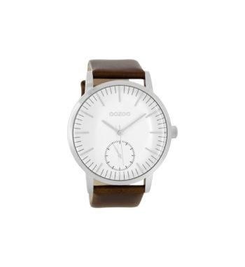 OOZOO Timepieces XXL Grey Unisex Watch C8587