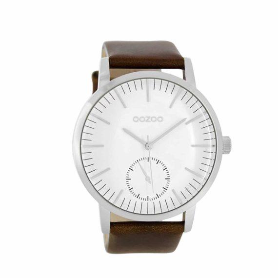 Oozoo Timepieces Xxl Grey Unisex Watch C8587 E1554316379363