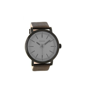 OOZOO Timepieces XXL White Unisex Watch C8254