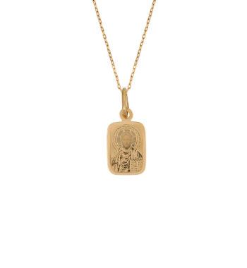 Φυλαχτό Κωνσταντινάτο Ιησούς Χριστός Χρυσό 002564