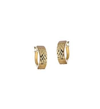 Σκουλαρίκι Κλασικό Καρφωτό Χρυσό 002558