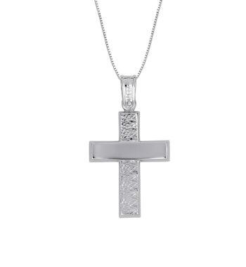 Σταυρός Πομπέ Ζαγρέ Λευκόχρυσος 002589