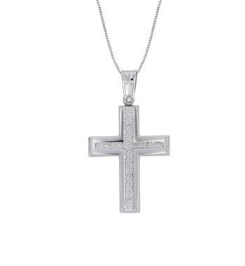 Σταυρός Ζαγρέ Λευκόχρυσος 002582