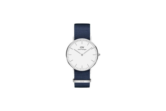 Daniel Wellington Classic Bayswater Silver Men's Watch DW00100280