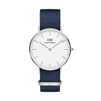 Daniel Wellington Classic Bayswater Silver Mens Watch Dw00100280 E1554315972596