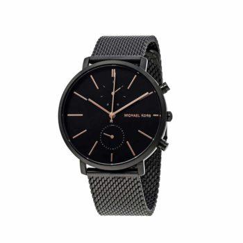 Michael Kors Jaryn Black Mens Watch Mk8504 1 E1554315304329