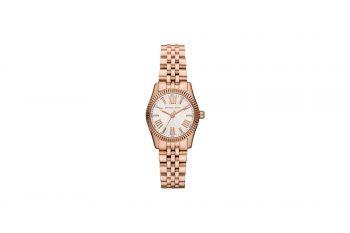 Michael Kors Lexington Glitz Rose Gold Women's Watch MK3230
