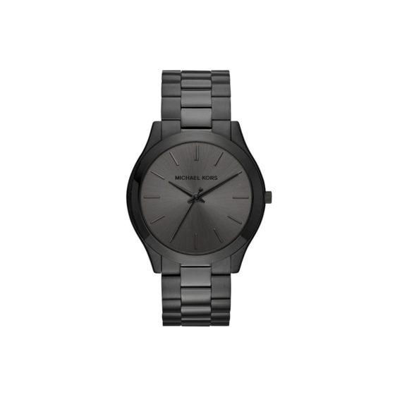 Michael Kors Slim Runway Black Unisex Watch MK8507