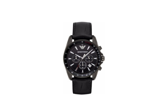 Emporio Armani Sigma Black Chronograph Men's Watch AR6097