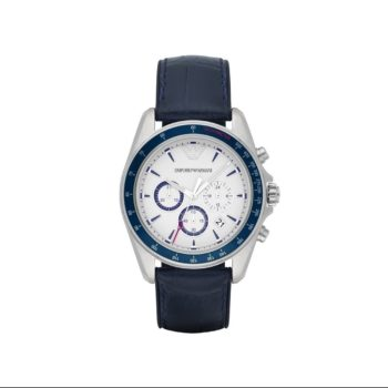 Emporio Armani Sigma Blue Chronograph Men's Watch – AR6096
