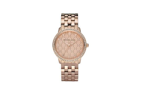 Michael Kors Argyle Rose Gold Women's Watch MK3156