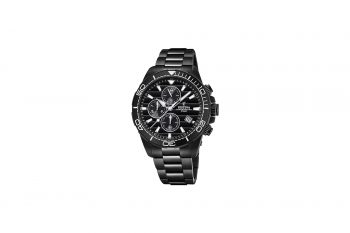 Festina Black Stainless Steel Chronograph Men's Watch F20365 3