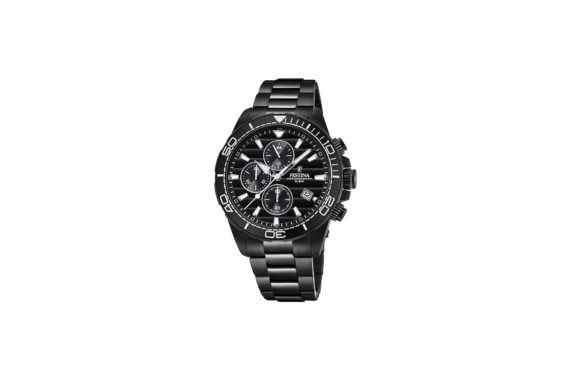 Festina Black Stainless Steel Chronograph Men's Watch F20365 3