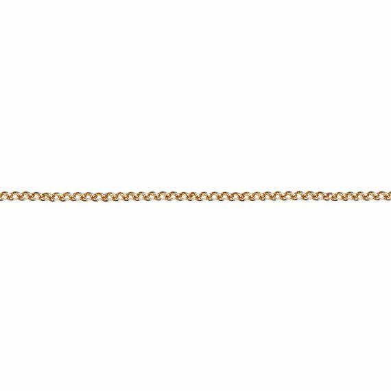 Αλυσίδα Πλεκτή Χρυσή 45cm C13 024