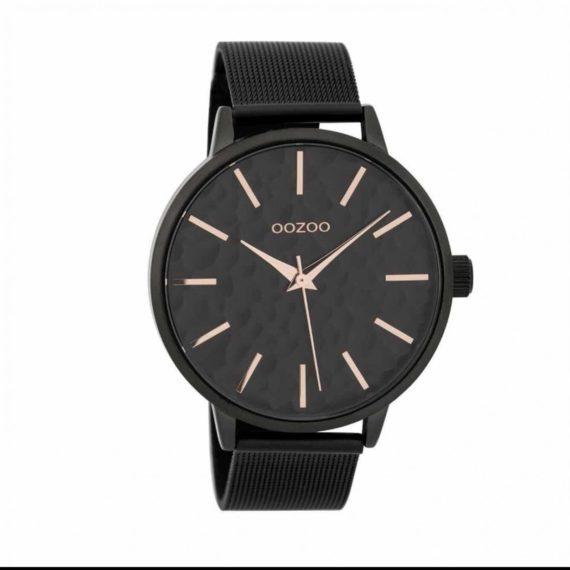 OOZOO Timepieces Black Unisex Watch C9574