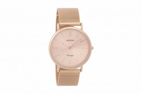 OOZOO Timepieces Vintage Rose Gold Women's Watch C9344