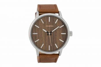 OOZOO Timepieces Wood XXL Mens Watch C9255