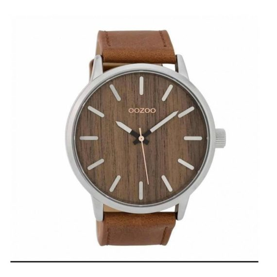 Oozoo Timepieces Wood Xxl Mens Watch C9255 E1554313736477