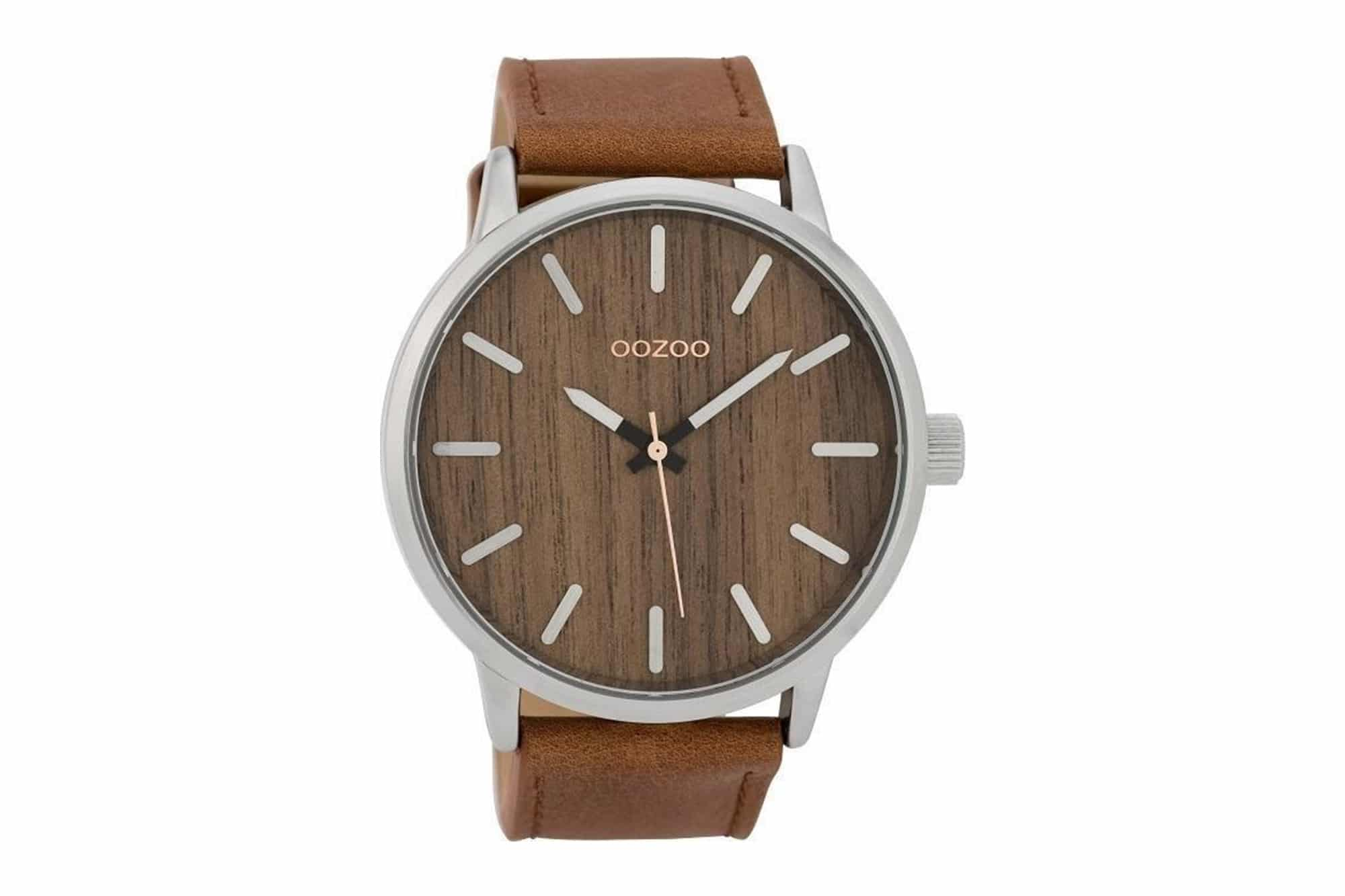 OOZOO Timepieces Wood XXL Men s Watch – Jewelor e375305e6c3
