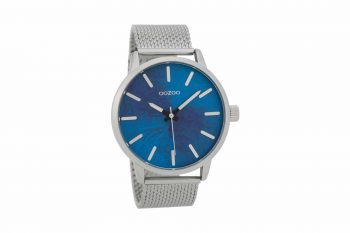 OOZOO Timepieces XL Silver Women's Watch C9656