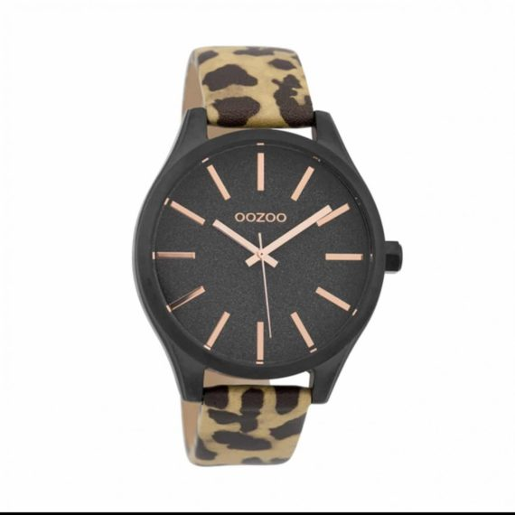 OOZOO Timepiecies XL Leopard Women's Watch C9774