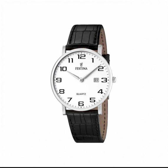 Festina Classic Leather Strap Men's Watch F16476 1