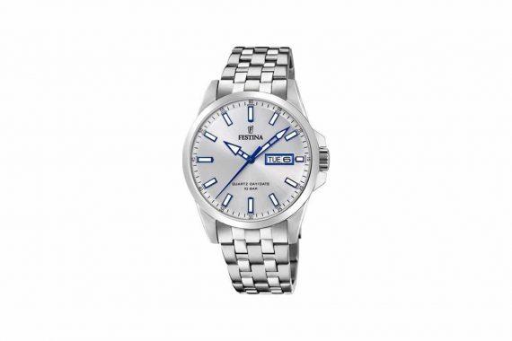 Festina Silver Blue Classic Men's Watch F20357 1