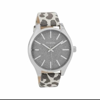 OOZOO Timepieces XL Leopard Women's Watch C9771