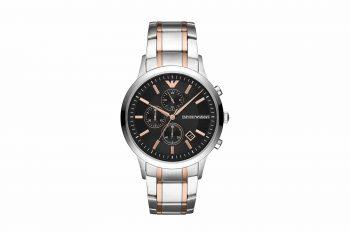 Emporio Armani Renato Two Tone Men's Watch