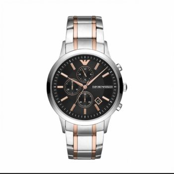 Emporio Armani Renato Two Tone Men's Watch