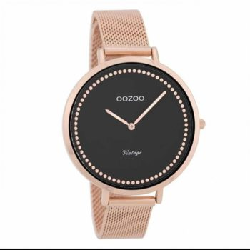 OOZOO Vintage Rose Gold Black Women's Watch C9858