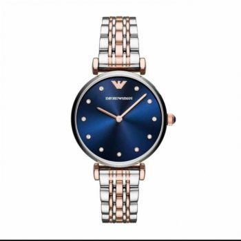 Emporio Armani Gianni T Bar Crystals Women's Watch