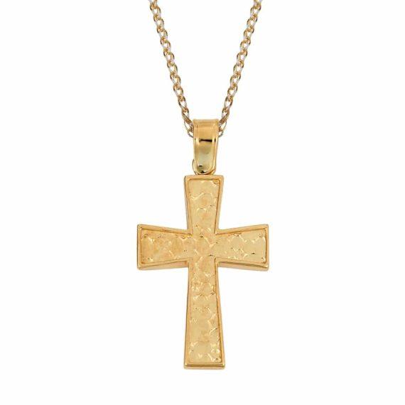 Σταυρός Χρυσός Ζαγρέ Διπλής Όψης 002840[2]