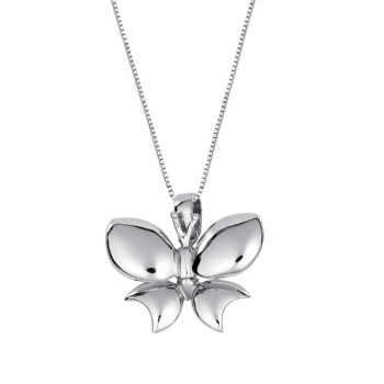 Κρεμαστό Πεταλούδα Λευκόχρυσος 14K