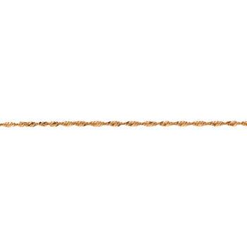 Αλυσίδα Χρυσή Στριφτή 45cm