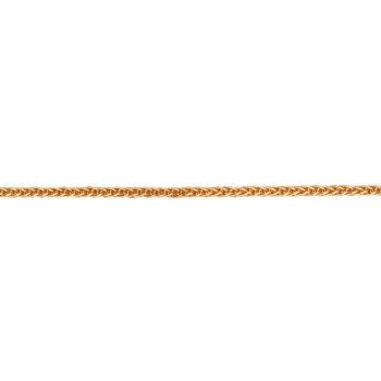 Αλυσίδα Χρυσή Πλεκτή Τετράγωνη 40cm